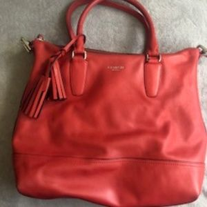 Coach Handbag Coral